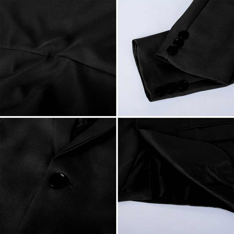 Jodimitty 2020 男性スリムフィットオフィスブレザージャケットのファッションメンズスーツジャケット結婚式コートカジュアルビジネス男性スーツコート