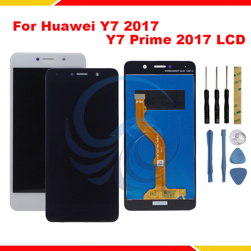 For Huawei Y7 2017/ Y7 Prime 2017 Display TRT-L21 TRT-LX1 LCD For Nova Lite Plus Display With Touch Screen Digitizer Assembly