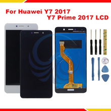 For Huawei Y7 2017/ Prime 2017 Display TRT-L21 TRT-LX1 LCD Nova Lite Plus With Touch Screen Digitizer Assembly