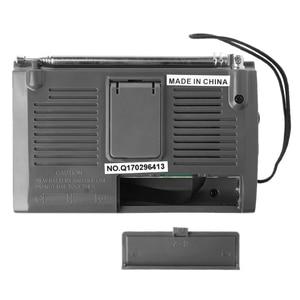 Image 5 - KK 9803 FM/MW/SW1 8 מלא 10 להקת היי רגישות רדיו מקלט עם מתקפל Kickstand