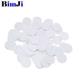 100pcs NTAG215 NFC Card Coin Tag For TagMo Forum Type2 NFC Tags Ntag 215 Chip 504 byte Read Write Free Shipping(China)
