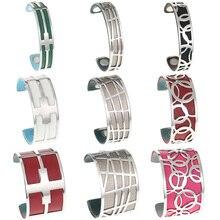 Legenstar Jonc Interchangeable Cuff Bracelet Manchette Femme Large 2019 love Stainless Steel Bracelets Bangles For Women and Men