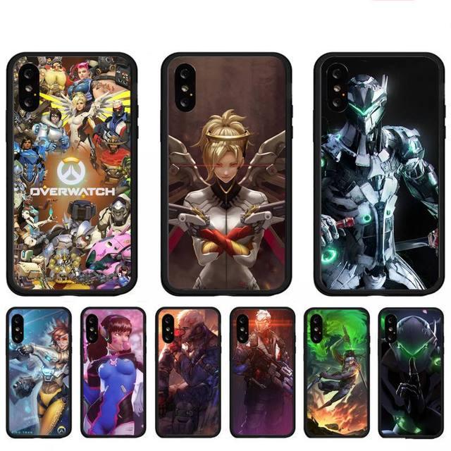 Overwatchs Phone Case Foe Redmi 4X 5 Plus 6 6A 7 7A 8 8A 9 Note 4 8 T 9 Por