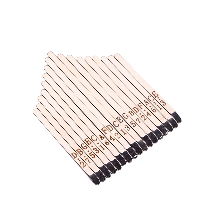 Musical Steel Keys For 17 Keys Kalimba Shrapnel Portable Music Accessory