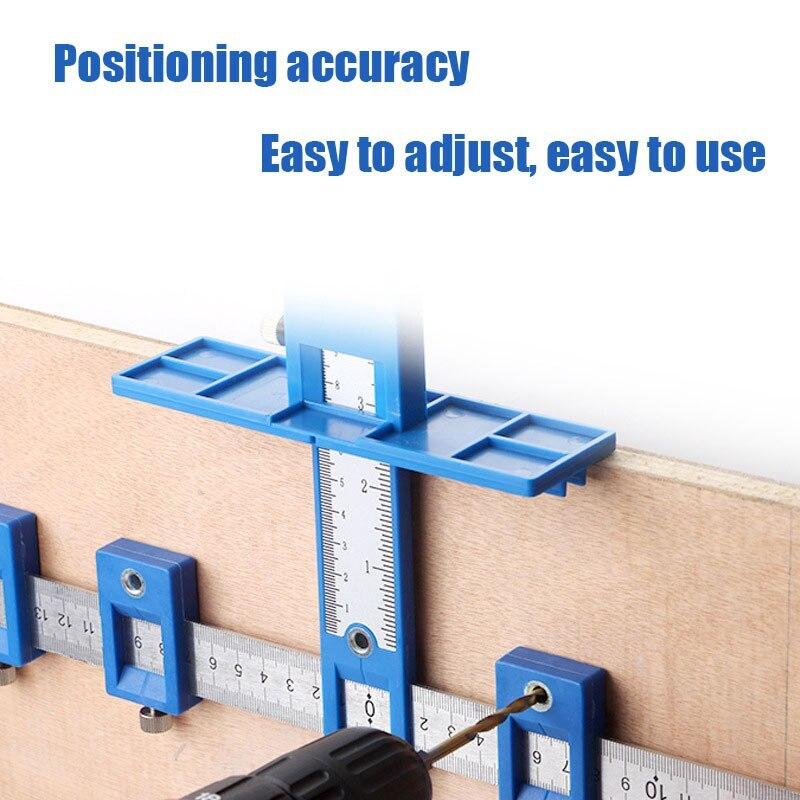 Съемный инструмент для сверления отверстий, центральный сверлильный направляющий набор, направляющий втулка для шкафа, аппаратный локатор...