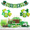38pcs St. Patrick's Day Photo Booth Props Shamrock Irish Saint Patty's Day Party Favor Suppliers Celebrations 2