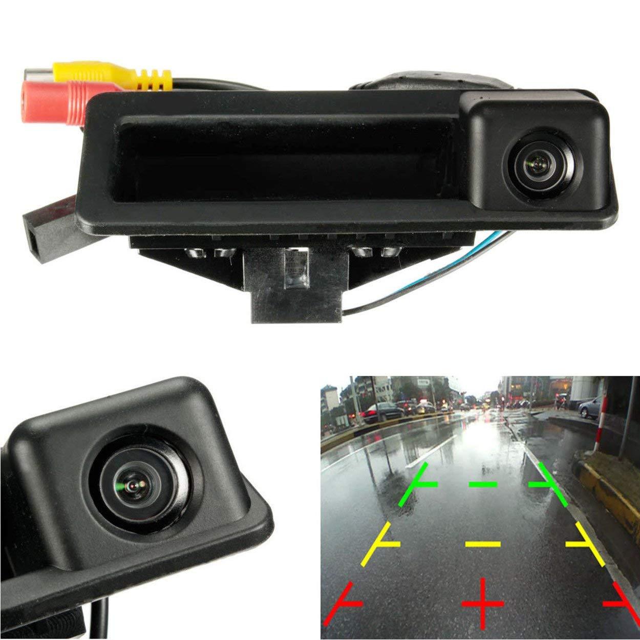 Car Reversing Rear View Camera For Bmw 3/5 Series X5 X1 X6 E39 E46 E53 E82 E88 E84 E90 E91 E92 E93 E60 E61 E70 E71 E72(China)