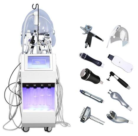Pure Oxygen Facial Best Water Oxygen O2 Face Care Deep Cleaning Injection Supplier Skin Care Equipment For Salon