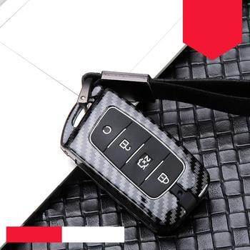 Hot Sale Zinc alloy+silica gel Full Cover Car Key Protect Case Shell For Changan CS75 PLUS CS85 COUPE CS95 2017-2019 Accessories