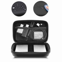 Travel carry cable organizer kit digital caso usb cabo de dados fone de ouvido fio caneta banco de potência sacos de armazenamento dispositivo gadget digital caixa