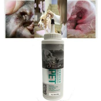 Pies kot ucha czysty proszek opieki zdrowotnej ucho świeży do pielęgnacji ucha proszek Pet ucha opieki tanie i dobre opinie Pet Ear Clean Powder For Dog Cat