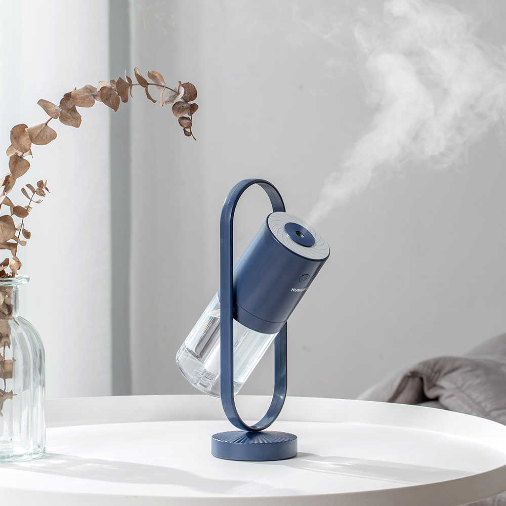 Neue Magie Negative Luft USB Luftbefeuchter 200ml Ultraschall Ätherisches Öl Diffusor Kühlen Nebel Luftreiniger Lichter Hause