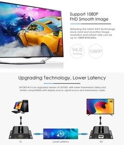 Image 4 - *Extra Transmitter*, For LKV383 V4.0 HDbitT HDMI 1080P 120m Extender LAN Repeater over RJ45 Cat5e/6,Compatible with LKV373A V3.0