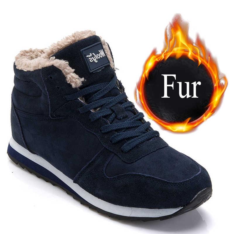 Yarım çizmeler Kadınlar Için 2019 Yeni Kadın Çizmeler Peluş Sıcak Kış Ayakkabı Kadın Sneakers Ayakkabı Yetişkin Kış Çizmeler Kadınlar Için Artı boyutu