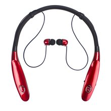 Bluetooth Wireless Headphone Neck Hanging TWS Sport Earphone IPX4 Waterproof Handsfree With Microphone For Iphone X 7 For Huawei