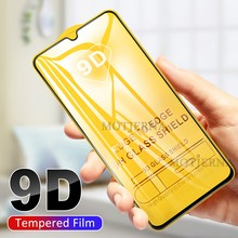 Tempered Glass For Huawei Honor 20 Pro 20i Full Cover Protective Glass For Honor 9 10 View 20 10i Lite 8X 8S 9D Screen Protector(China)
