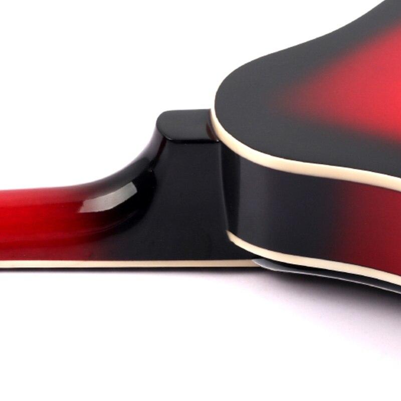 8 String Tiglio Sprazzo di Sole Mandolino Strumento Musicale con Corda di Acciaio in Legno di Palissandro Mandolino Strumento a Corde Ponte Regolabile - 4
