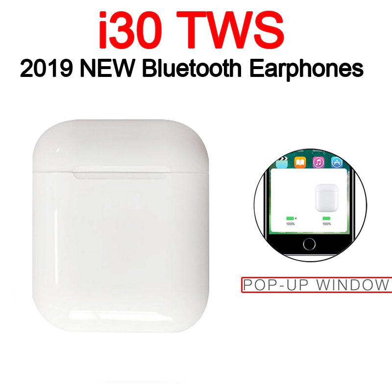 TOP Wireless Earphone Headphones Earpiece Quality Mini I30 I10 TWS Bluetooth Headsets Earbuds  For Original Iphone