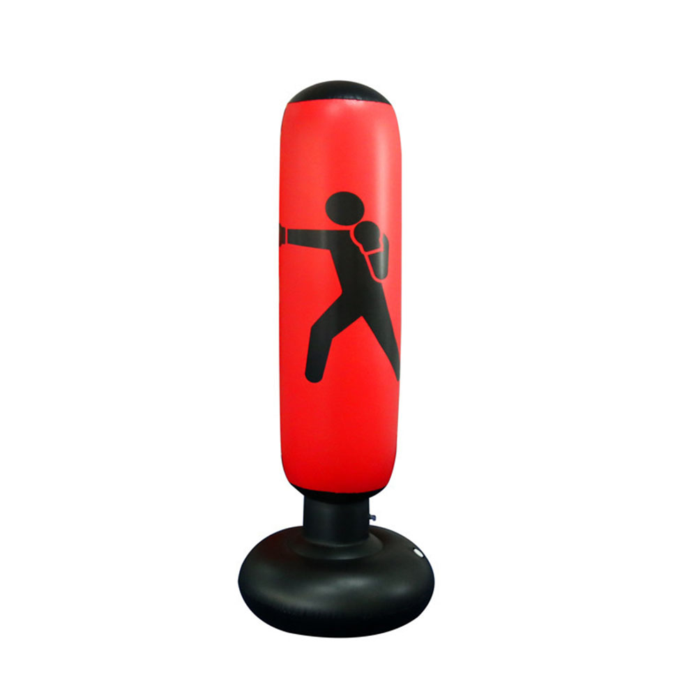 Free Standing Punching Children Adults Sandbag PVC Boxing Bag Inflatable Pressure Relief Coordination Tumbler Type Training