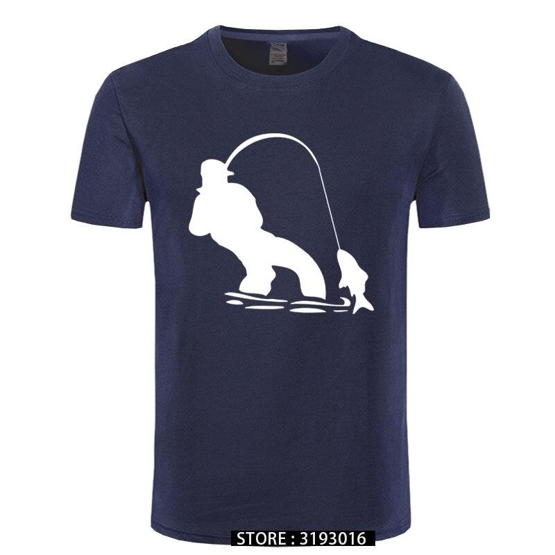 T-shirts à manches courtes en tissu authentique, Design Swag, pêcheur à la mouche, pour hommes, Ali Shirt en ligne, jolis t-shirts pour hommes