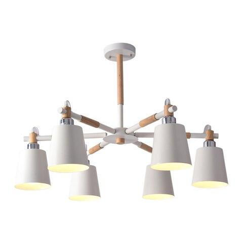 chandelier wooden