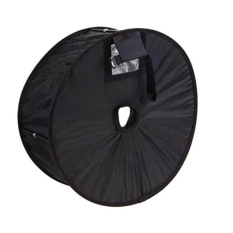 Ring Softbox SpeedLite Softbox Flash Light stand 45cm Foldable Diffuser Ring Speedlight Soft box for Canon Nikon Speedlight