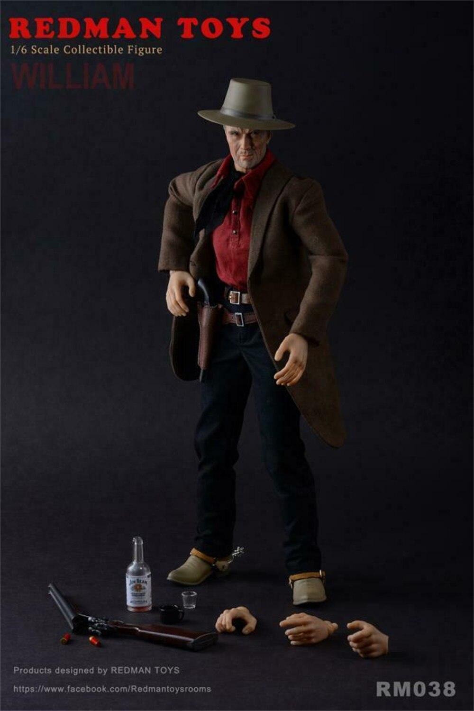 Redman Action Figures Spurs Good Cowboy V4 1//6 Scale