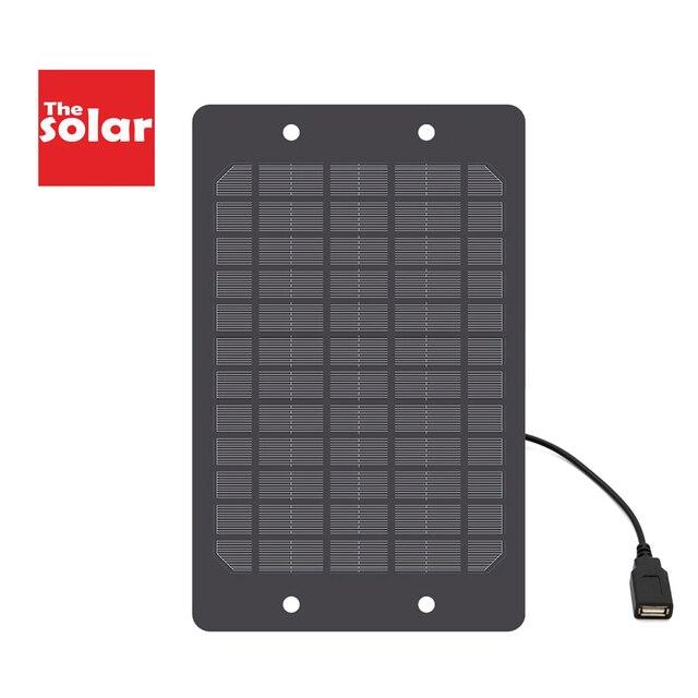 5V 2W 3W 5W 6W Solar Panel mit USB Port Power Solar Panels Ladegerät Solar batterie Ladung Power Bank Im Freien 3,7 V batterie
