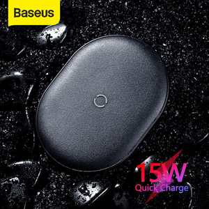 Image 1 - BASEUS 15W Qi Wireless ChargerสำหรับiPhone 11 Pro X XS MAX XR 8 PLUS Fast CHARGINGสำหรับAirpods pro Samsung S9 S10 S20 P20 P30 Pro