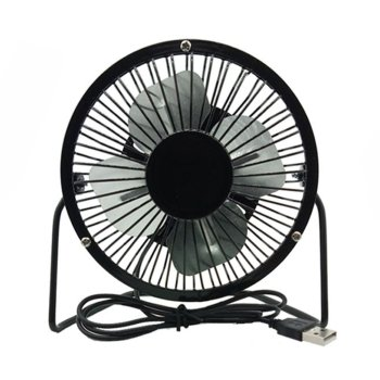 Usb Fan Mini Portable Office Cooling Wrought Iron Small Student Desktop Creative Gift