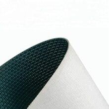 """ПВХ 2,8 мм зеленый """"H"""" шаблон конвейерной ленты для транспортировки картонной доски"""