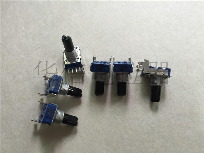 2 pces 142-tipo horizontal único potenciômetro rotativo 103b 10k/4 pinos/comprimento da pata 15mmf