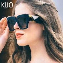 2019 double eleven Square Oversized Sunglasses Women Luxury