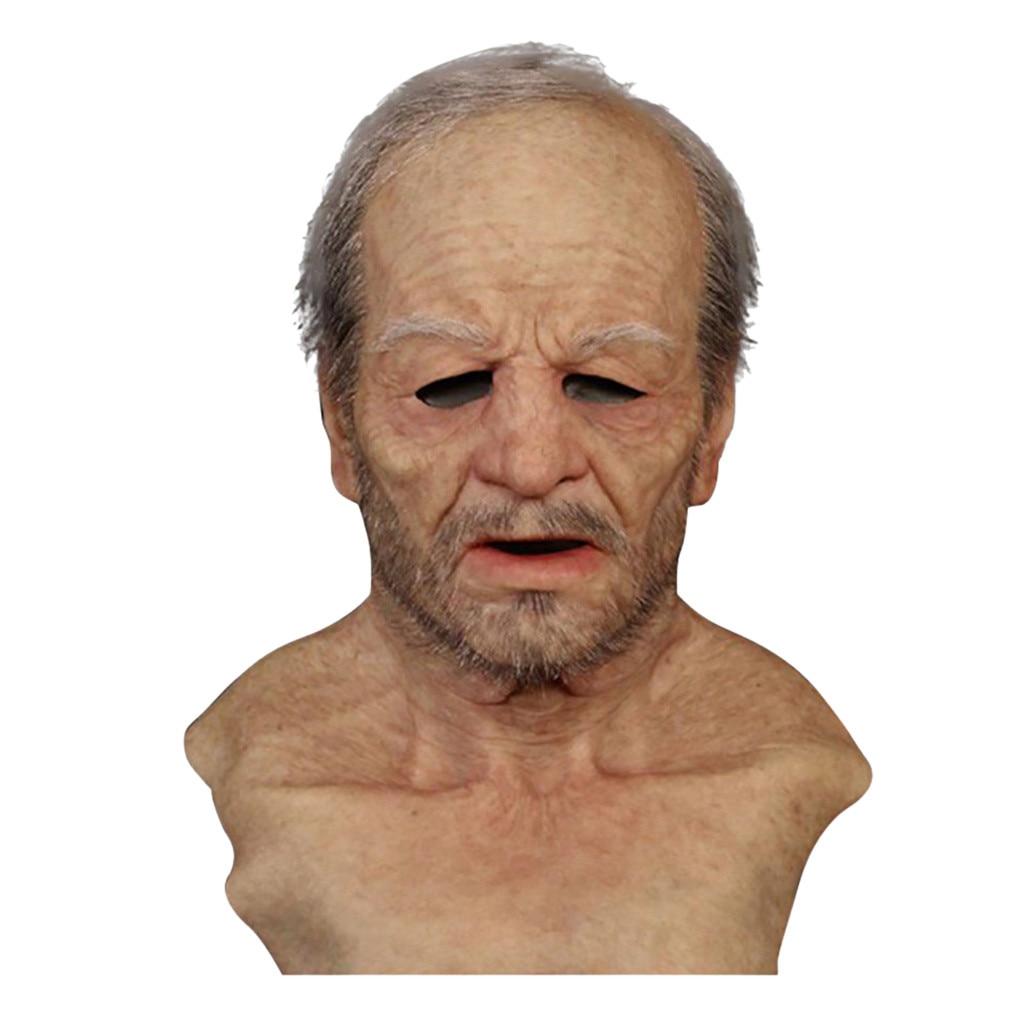 Веселые маски с надписью «Other Me-The Elder», супермягкая маска для взрослых для пожилых людей, Карнавальная ужасная жуткая вечерние НКА, товары дл...
