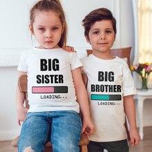Boys T-Shirt Short-Sleeve Funny Toddler Girls Baby Kids Children Fashion Tees Loading