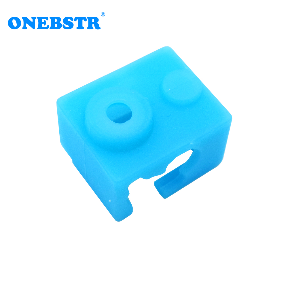 Protective Silicone Sock Cover Case For E 3D V6 Heated Block Kit Warm Keeping Cover Reprap 3D Printer Parts Free Shipping