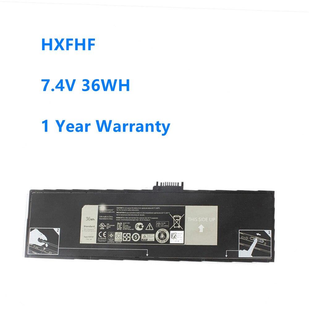 Аккумулятор для ноутбука HXFHF для DELL Venue 11 Pro (7130) 11 Pro (7139) 11 Pro 7140, HXFHF7.4V 36WH