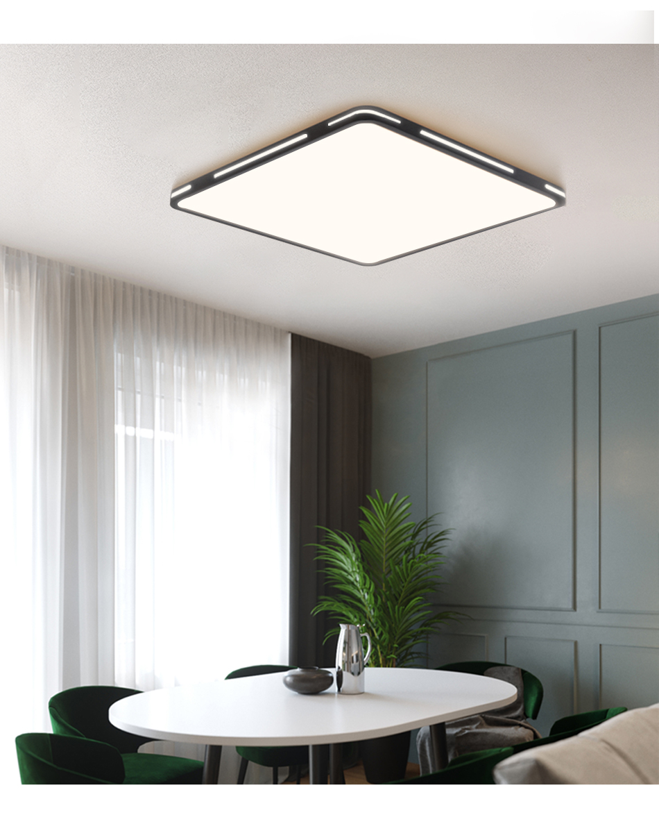 H37ed5e63f5ec400987dda30a2a80fcf3V Modern LED Ceiling Light Simple Decoration Fixtures for Study Dining Room Bedroom Living Room Balcony Ceiling Lamp AC110v 220v