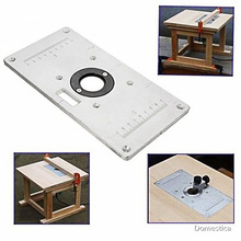 Insert-Plate Woodworking Table Milling-Machine Aluminum-Alloy Table-Tools 700C with 4-Ring