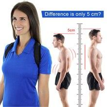 S/M/L Upper Back Posture Corrector Support Brace Belt Adjust