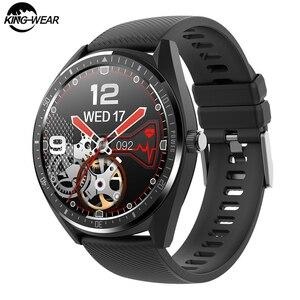 KINGWEAR KW33 IP68 wodoodporny inteligentny zegarek mężczyźni bransoletka 15 dni czas pracy bateria 340mAh Smartwatch Bluetooth IOS Android Band