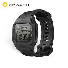 Original Amazfit Neo Smart Uhr Bluetooth Smartwatch 5ATM Tracking 28 Tage Batterie Lebensdauer Uhr Für Android IOS Telefon