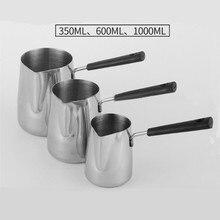 Bakelite Handle Wax Melting Pot DIY Candle Soap Melts Pot Scented Wax Melts Metal Coffee Toroid Pitcher Latte Milk Frothing Jug