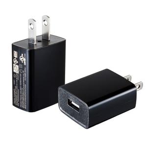Image 1 - 5V1A 미국 플러스 여행 충전기 전원 어댑터 아이폰에 대한 UL 인증 USB 충전기 삼성 Xiomi 전화 에너지 효율적인 충전 헤드