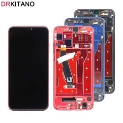Pour Huawei Honor 8X LCD écran tactile panneau numériseur avec cadre pour Honor 8X affichage pièces de rechange JSN-L21 L23