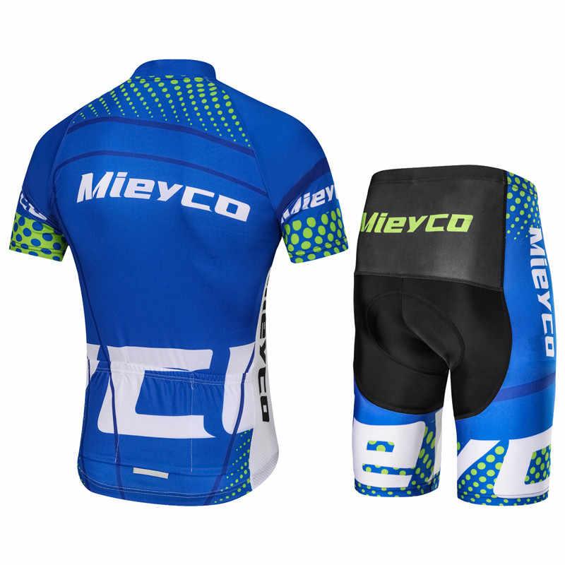 Homem Roupas de ciclismo Camisa de Ciclismo 2019 Dos Homens do Verão Set Roupas Bicicleta maillot ciclismo Roupas de Bicicleta Roupa de Manga Curta
