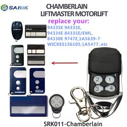 Chamberlain 4330e 4332e  4333e 4335e transmisor de mano compatible para puertas deslizantes código de rodamiento de garaje