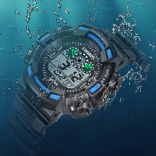 Waterproof Digital Children WristWatch Boys Girls LED Multifunction Sports Watches
