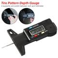 Digital Tiefe Gauge Sattel Profiltiefenmesser LCD Reifen Lauffläche Gauge Für Auto Reifen 0-25mm Messer Werkzeug sattel Reparatur Werkzeuge