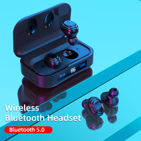 H01 TWS Bluetooth Earphone True Wireless Bluetooth 5.0 Earbuds 9D Stereo Music Headphones Touch Control 2000mAh LED Display